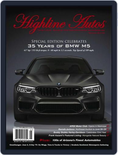 Highline Autos June 1st, 2019 Digital Back Issue Cover