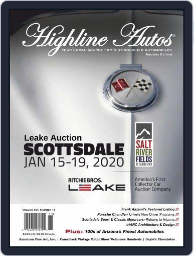 Highline Autos December 1st, 2019 Digital Back Issue Cover