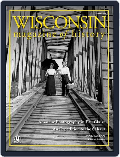 Wisconsin Magazine Of History February 6th, 2018 Digital Back Issue Cover