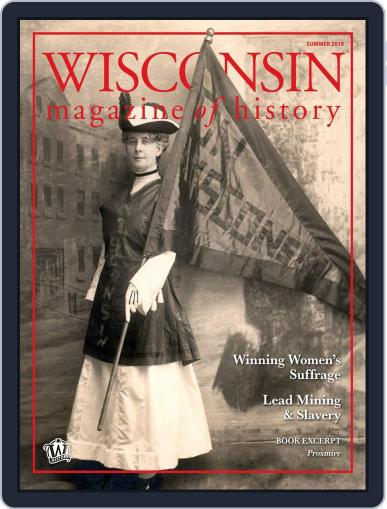 Wisconsin Magazine Of History May 21st, 2019 Digital Back Issue Cover