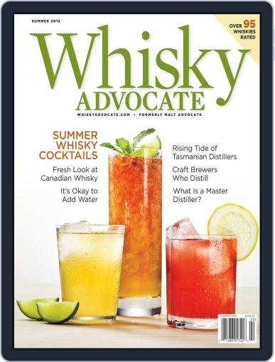 Whisky Advocate May 24th, 2012 Digital Back Issue Cover