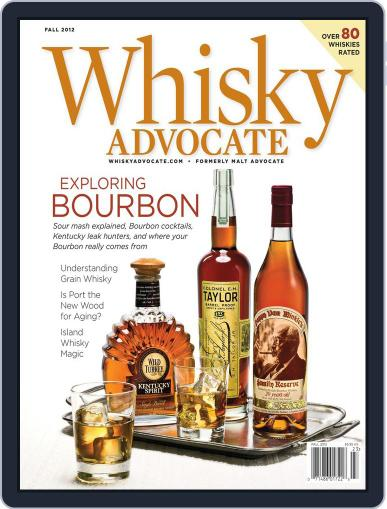 Whisky Advocate August 24th, 2012 Digital Back Issue Cover