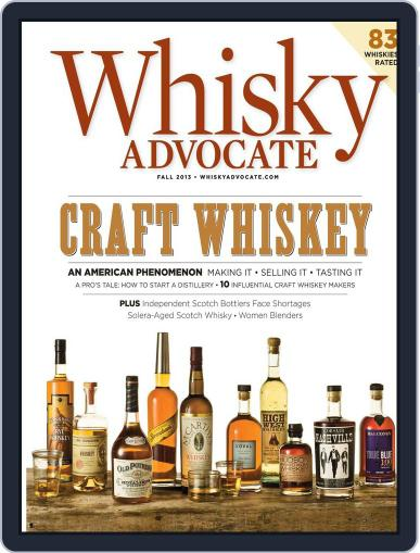 Whisky Advocate August 27th, 2013 Digital Back Issue Cover