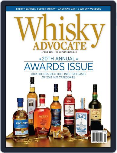 Whisky Advocate February 26th, 2014 Digital Back Issue Cover