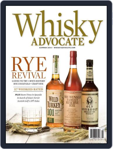 Whisky Advocate May 28th, 2014 Digital Back Issue Cover