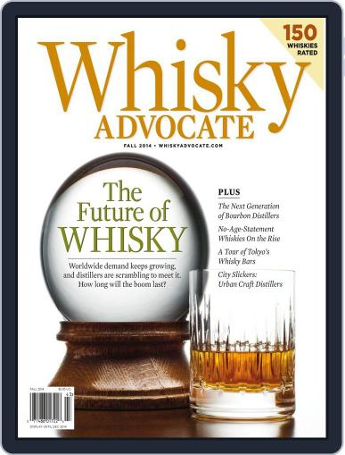 Whisky Advocate September 10th, 2014 Digital Back Issue Cover