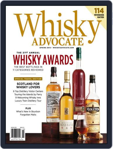 Whisky Advocate February 26th, 2015 Digital Back Issue Cover