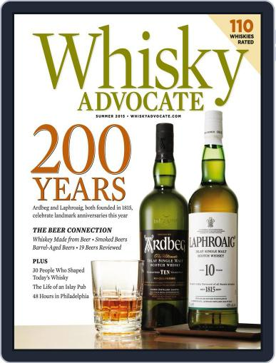 Whisky Advocate May 28th, 2015 Digital Back Issue Cover