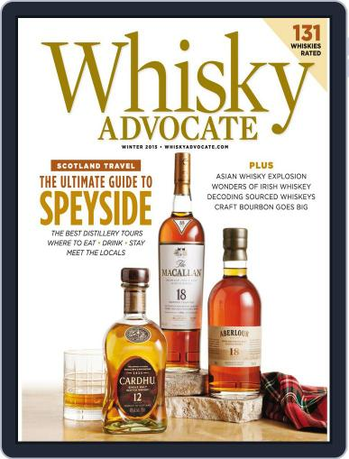 Whisky Advocate November 27th, 2015 Digital Back Issue Cover