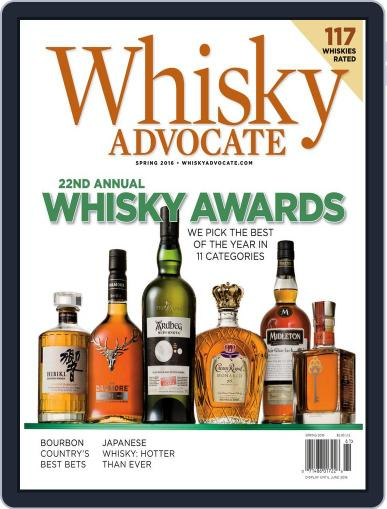 Whisky Advocate February 25th, 2016 Digital Back Issue Cover