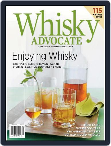 Whisky Advocate May 26th, 2016 Digital Back Issue Cover