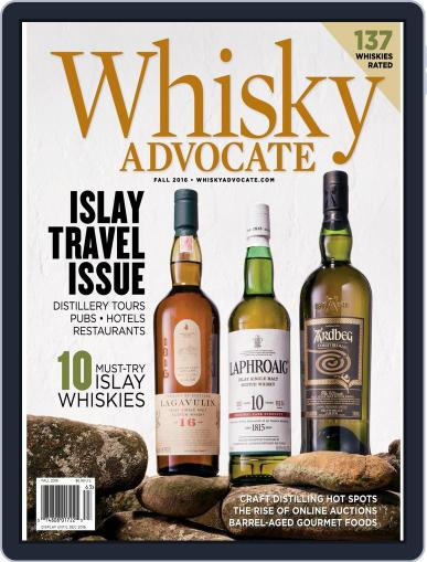 Whisky Advocate August 1st, 2016 Digital Back Issue Cover