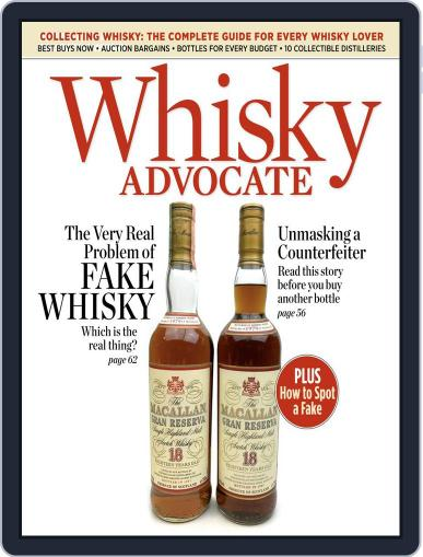 Whisky Advocate August 15th, 2017 Digital Back Issue Cover