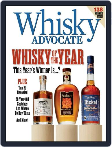 Whisky Advocate December 5th, 2019 Digital Back Issue Cover