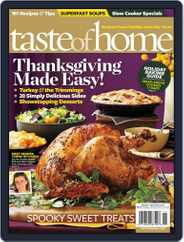 Taste of Home (Digital) Subscription September 25th, 2012 Issue