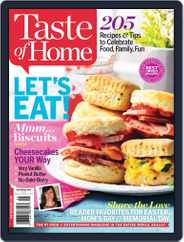Taste of Home (Digital) Subscription April 13th, 2014 Issue