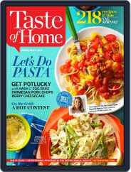 Taste of Home (Digital) Subscription April 1st, 2015 Issue