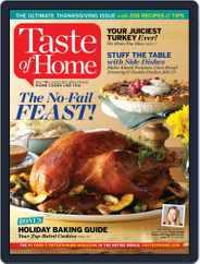 Taste of Home (Digital) Subscription November 1st, 2015 Issue