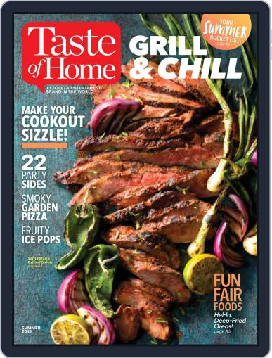 Taste of Home May 1st, 2018 Digital Back Issue Cover