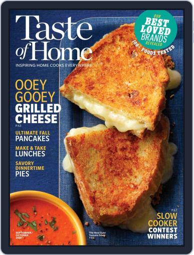 Taste of Home September 1st, 2018 Digital Back Issue Cover