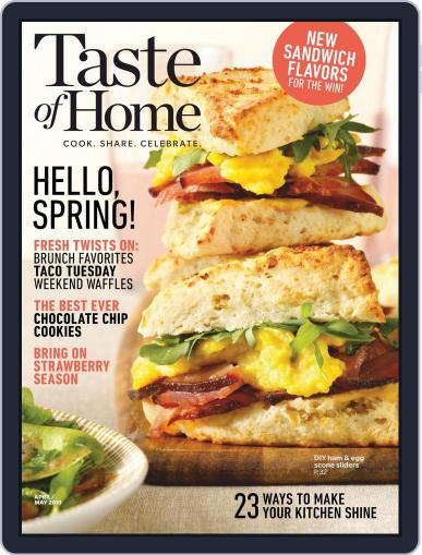 Taste of Home March 13th, 2019 Digital Back Issue Cover