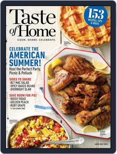 Taste of Home June 1st, 2019 Digital Back Issue Cover
