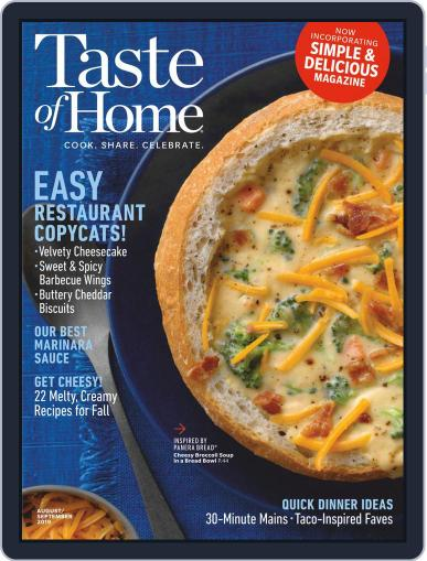 Taste of Home August 1st, 2019 Digital Back Issue Cover