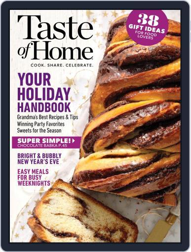 Taste of Home December 1st, 2019 Digital Back Issue Cover