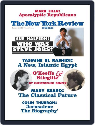 The New York Review of Books January 6th, 2012 Digital Back Issue Cover