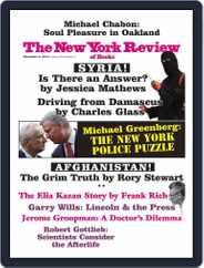 The New York Review of Books (Digital) Subscription October 16th, 2014 Issue