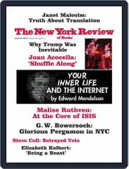 The New York Review of Books (Digital) Subscription June 3rd, 2016 Issue