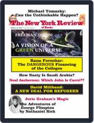 The New York Review of Books (Digital) Subscription October 13th, 2016 Issue