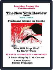 The New York Review of Books (Digital) Subscription December 21st, 2017 Issue