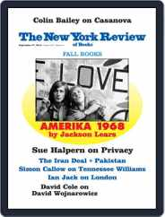 The New York Review of Books (Digital) Subscription September 27th, 2018 Issue