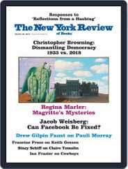 The New York Review of Books (Digital) Subscription October 25th, 2018 Issue