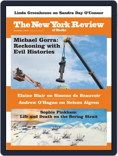 The New York Review of Books November 7th, 2019 Digital Back Issue Cover