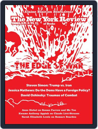 The New York Review of Books February 13th, 2020 Digital Back Issue Cover