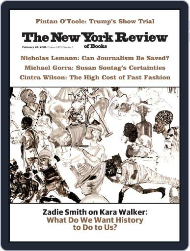 The New York Review of Books February 27th, 2020 Digital Back Issue Cover