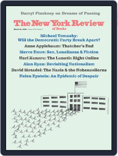 The New York Review of Books March 26th, 2020 Digital Back Issue Cover