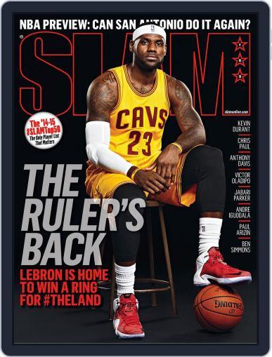 Slam January 1st, 2015 Digital Back Issue Cover