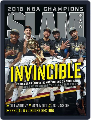 Slam September 1st, 2018 Digital Back Issue Cover