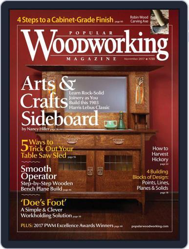 Popular Woodworking November 1st, 2017 Digital Back Issue Cover