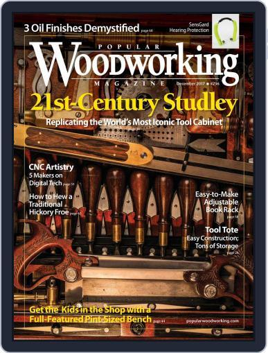 Popular Woodworking December 1st, 2017 Digital Back Issue Cover