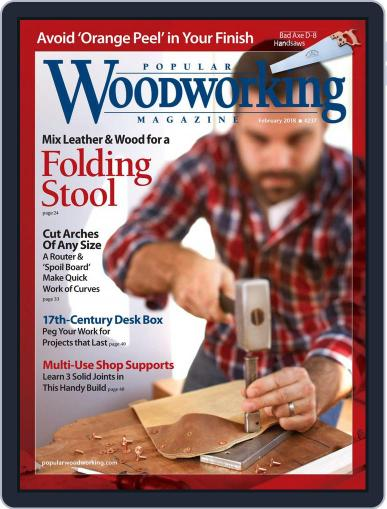 Popular Woodworking February 1st, 2018 Digital Back Issue Cover