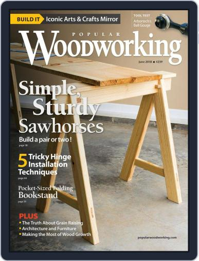 Popular Woodworking June 1st, 2018 Digital Back Issue Cover
