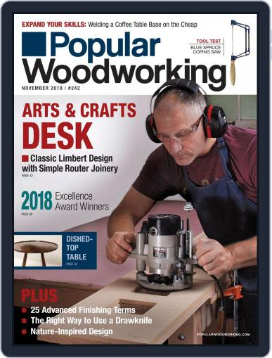 Popular Woodworking November 1st, 2018 Digital Back Issue Cover