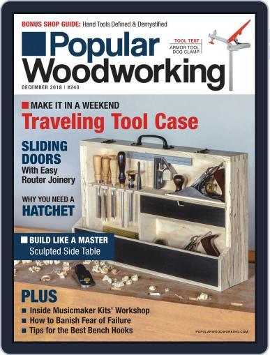 Popular Woodworking December 1st, 2018 Digital Back Issue Cover