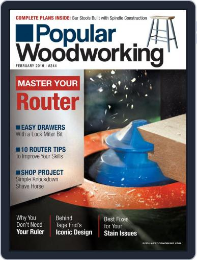 Popular Woodworking February 1st, 2019 Digital Back Issue Cover