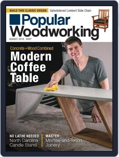 Popular Woodworking August 1st, 2019 Digital Back Issue Cover