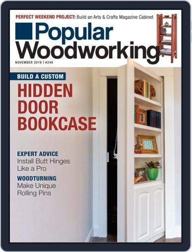 Popular Woodworking November 1st, 2019 Digital Back Issue Cover